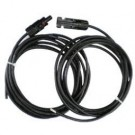 Kabel 2 x 10 meter (1x Male-Geen, 1x Female-Geen MC4)