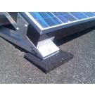 Rubber beschermingsmatje om uw dakbedekking te beschermen (praktijkafbeelding)